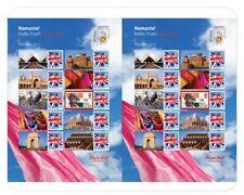 Engeland 2011 INDIPEX special smiler sheet postfris/mnh