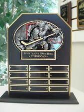 Fantasy Hockey Perpetual 12 Year Award Plaque Trophy