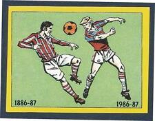 PANINI FOOTBALL 87-#392-ASTON VILLA KITS-1886-87 && 1986-87