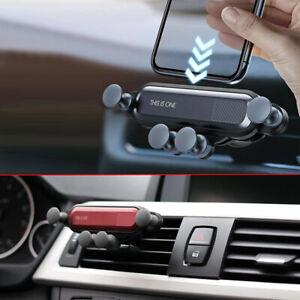 Gravity Phone Holder Car Interior Air Vent Mount Cradle Stand Clip Accessories