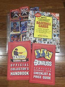 1990 Hygrade Baseball Card Book, Donuts Baseball Card Book & 14 Sleeves w/Cards