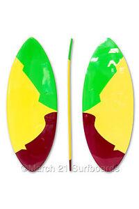 "52"" Epoxy EPS Skimboard Medium Pin Tail GYB Skim Surf"