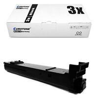 3x ECO Toner BLACK für Konica Minolta Magicolor 4690-MF 4695-MF 4650-DN 4650-EN