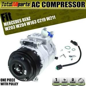 A/C Compressor for Mercedes-Benz W203 W204 S203 CL203 C180 C200 1998-2019 R134a
