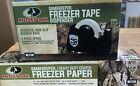 Mossy Oak .. Freezer Paper @ Freezer Tape Dispenser Combo Deal Brand New