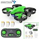 SNAPTAIN SP350 Mini RC Drone 2.4G 360°Flip Hover micro Quadcopter For Kids Green