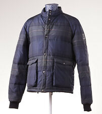 NWT BELSTAFF x GOODWOOD 'Thinwall' Printed Check Puffer Jacket 50 (M/L) Coat