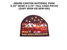 "Arizona ""Grand Canyon National Park"" Patch US Travel Souvenir Iron-On Applique"