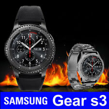 New Samsung gear S3 frame deep gray R765V Bluetooth smart Watch