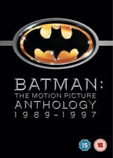 Batman: The Motion Picture Anthology - Complete Legacy Box Set Collection | New