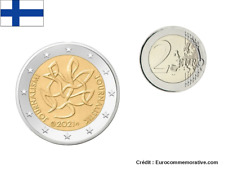 2 Euros Commémorative Finlande 2021 Journalisme UNC