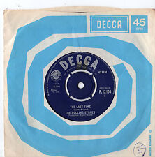 """Rolling Stones - The Last Time 7"""" Single 1965"""