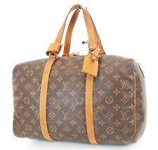 Authentic Vintage LOUIS VUITTON Sac Souple 35 Monogram Tote Duffle Bag #37188