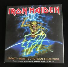 2 CD digipack IRON MAIDEN LEGACY OF THE BEAST TOUR STOCKHOLM 2018