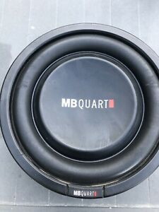 """MB Quart 8"""" Dual Voice Coil Shallow Mount Subwoofer"""