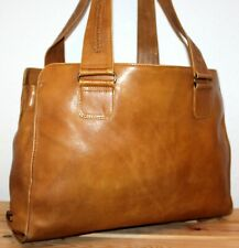 Hidesign By Radley Leather Tan Boho/Hobo Bucket Shoulder Bag/Tote/Purse