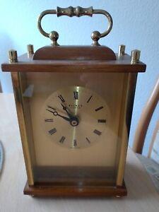 Weimar Quarz Uhr Tischuhr läuft einwandfrei Tolle DEKO Büffetuhr