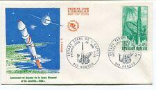 1970 Premier Jour D'Emission Lancement Guyane Diamant Satellite DIAL Kourou