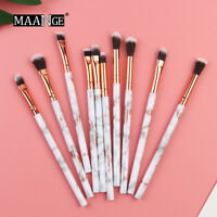 MAANGE 5/7/10pcs Mini Makeup Brushes Set Eyeshadow Eyeliner Concealer Brush set
