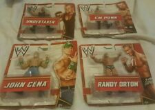 WWE Mattel Figure Bundle- Including John Cena,Randy Orton,Undertaker and CM Punk