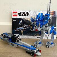 Star Wars LEGO® 501st Legion AT-RT & BARC Speeder Clone Wars 75280 NO MINIFIGS