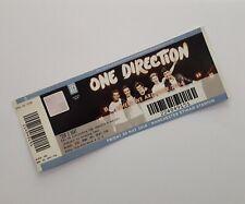 One Direction Tickets - Unused Ticket Stub Manchester 30/05/14 Memorabilia