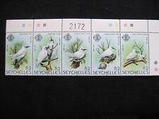 Seychelles: 1981 Birds - White Tern Se-tenant set of 5 UMM