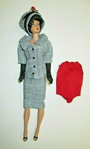 Vintage Barbie Midge Doll With #954 CAREER GIRL Outfit Hat Gloves Shoes Blouse