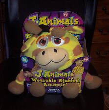 New JAnimals Giraffe Wearable Stuffed Animals by Jay @ Play Size Medium