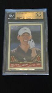 Anthony Kim 2011 Upper Deck Golf Goodwin Champions Rookie Card BGS 9.5 Gem Mint
