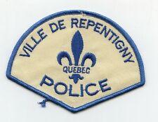 Ville de Repentigny Police, Quebec, Canada HTF Vintage Uniform/Shoulder Patch