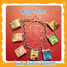 Harry Potter Inspired Mini Book Charm Bracelet Gift Geekery Original Covers