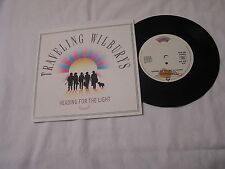 Traveling Wilburys Import 45 with Picture Sleeve-HEADING FOR THE LIGHT/RATTLED