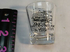 Manitou and Pikes Peak Cog Wheel Route Railway Shot Glass