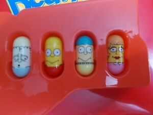 Mighty Beanz The Simpsons 4 Bean Lot #36 Wendell, #1 Bart & 2 More!