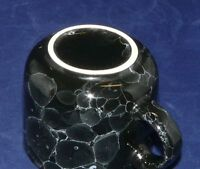 Wächtersbach Keramik 1832 Germany Lifestyle Marmor schwarz Kaffeetasse 7,5 cm Dm
