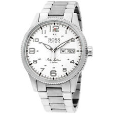 Hugo Boss Pilot Silver Dial Stainless Steel Men's Watch 1513328