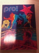 October 1971 Pro Magazine NFL Program - San Francisco 49ers @ Rams