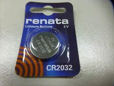 10PK of Renata CR2032 Button Cell Battery