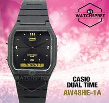 Casio Analog Digital Dual Time Watch AW48HE-1A