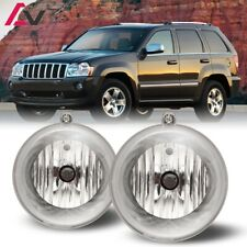 For Jeep Grand Cherokee 05-10 Clear Lens Pair Bumper Fog Light OE Replacement