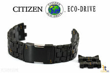 Citizen Eco-Drive BL5405-59E Black Ion-Plated Stainless Steel Watch Band S078423