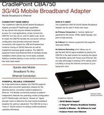 Cradlepoint Cba750 3G/4G Mobile Broadband Adapter