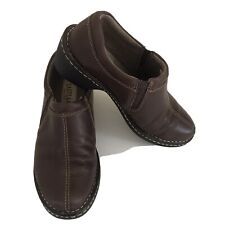 Women's Eastland Amore Brown Casual Comfortable Slip-on Shoes Size 7M Leather
