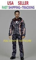 CUSTOM MADE 1/6 Tony stark FIGURE IRON MAN SUPERMCToys Nano Combat Suit F-080