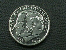 SWEDEN  1 Krona  1999  UNC  COMBINED SHIPPING  .10 Cents USA  .29 INTERNATIONAL