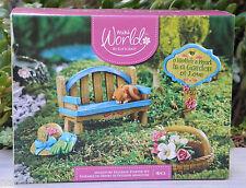 Miniature Dollhouse FAIRY GARDEN ~ 4 Pce Mom's Garden Figurine Starter Gift Set