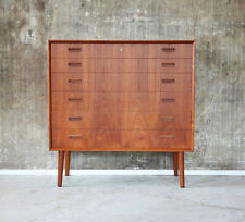 60er Bornholm Teak Kommode Highboard Danish Mid-Century 60s Cabinet Vintage