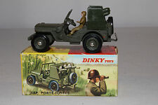 1960's French Dinky #828 Rocket Carrier Jeep, Nice with Original Box, Lot #13