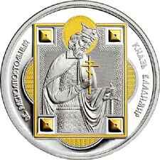2012 Fiji Large Guilt Silver Proof  $10 Saint Prince Vladimir of Russia-nice box
